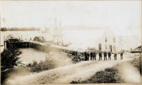 The Jameson & Wotton Wharf, ca. 1900