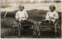 The Wotton twins, Friendship, ca. 1909