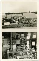 Exterior and interior of the Lobster Pot, ca. 1948