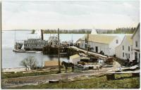 Friendship steamer wharf, ca. 1915
