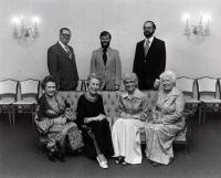 Trustees of the Centre d'Héritage Franco-Américain, ca. 1972