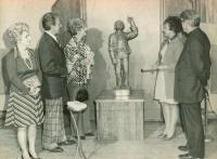 Paysan Québecois Installation, Augusta, Maine, 1976