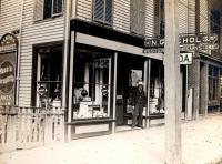 Bramhall Square, Portland ca. 1895
