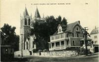 St. John Catholic Church, Rumford,  ca. 1940