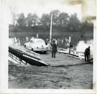 Rumford Point Ferry dock, ca. 1940