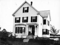House in Maine ca. 1895
