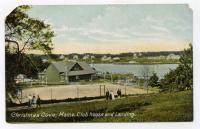 Clubhouse and tennis courts, Christmas Cove, ca. 1910