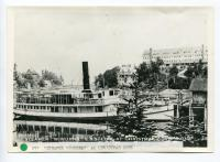 Steamer Wiwurna and Holly Inn, Christmas Cove, 1924