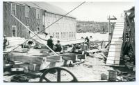 Minesweeper Construction at Gamage Shipyard, South Bristol, ca. 1942