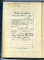 S Road School Bookplate, South Bristol, ca. 1931