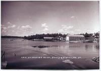 Original shed at the Gamage boatyard, South Bristol, ca. 1930