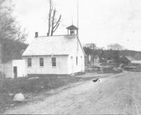 East Otisfield Schoolhouse and Sawmill, Otisfield, ca. 1900