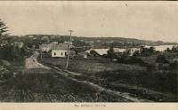 South Bristol village from a distance, 1910