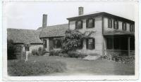 "Maud Webber's house, the ""Squire Tarbox"" Inn,  ca. 1939"