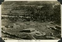 Railroad roundhouse, Rumford, 1892