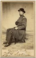 Henry Frank Sidelinger, 20th Maine, ca. 1863