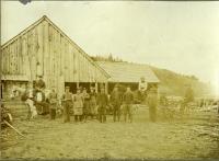 Mill Crew, Rumford Center, ca. 1880