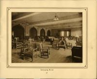 Lounging Room, Mechanics Institute, Rumford, 1911