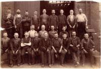 Setting Up Shop employees, Portland, 1887