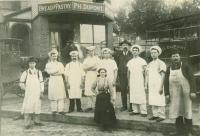 Philippe Dupont Bakery, Auburn, 1900