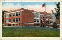 Stephens High School, Rumford, ca. 1912