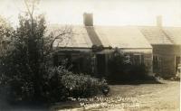 Mellie Dunham's homestead, Norway, ca. 1925