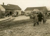The Dunhams depart for Michigan, Norway, 1925