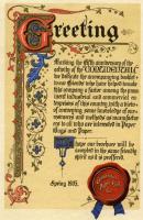Continental Paper Bag Company proclamation, Rumford Falls, 1905