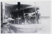 Steamboat Ripple at Kineo Dock, Moosehead Lake, ca. 1880