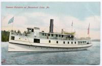Steamer Katahdin on Moosehead Lake