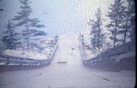 Pulpwood Chute at Silver Lake, Township 26 ED, ca 1955
