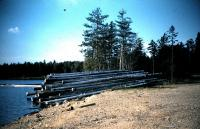 Boom Logs, Greenlaw Chopping Township, ca. 1955