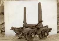 Log bunk for Somerset Railroad, 1906