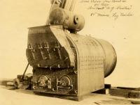 Marine boiler, Portland Co.,  ca. 1900