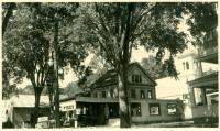 Socony Station, Main Street, Bridgton, ca. 1938
