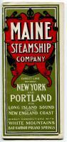 Maine Steamship Company brochure, 1902