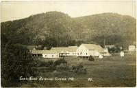Corn Shop Rumford Center, ca. 1910