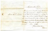 Letter to Sarah Tarbox from Rebecca, ca. 1850