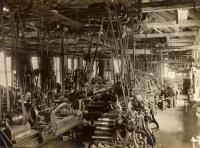 Machine shop, Portland Co., ca. 1890