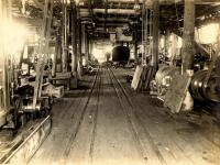 Interior view of Portland Company shop, ca. 1890