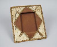 Picture frame, Passamaquoddy, ca. 1900