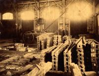 Interior view of metalworking area, Portland Co., ca. 1890