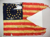 2nd Maine Regiment flag fragment, 1861