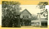 Warrens Market, Main Street, Bridgton, ca. 1938