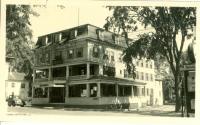 Cumberland Hotel, Main Street, Bridgton, ca. 1938