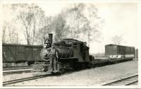 The Narrow Gauge Engine Number 4, Monson, ca. 1930