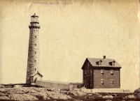 Thatchers Island Light, Massachusetts, ca. 1861