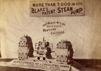 Blake's steam pump display