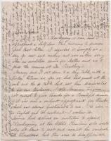 Martha Osgood account of spiritualist, Bar Mills, 1862