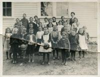 Village School Students, St. Albans, ca. 1903